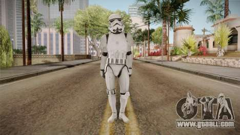 Star Wars Battlefront 3 - Stormtrooper for GTA San Andreas second screenshot