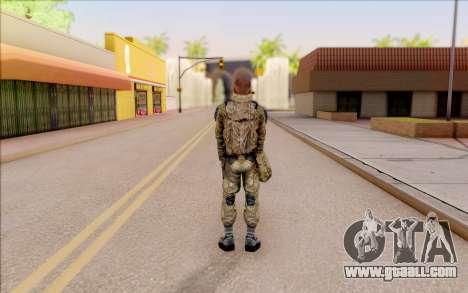 That of S. T. A. L. K. E. R. for GTA San Andreas forth screenshot