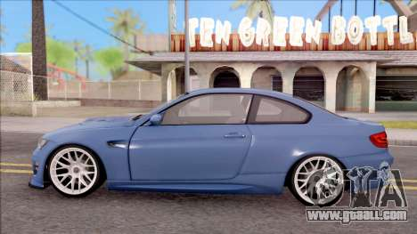 BMW M3 E92 Hamann Tuning for GTA San Andreas left view