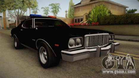 Ford Gran Torino Police LVPD 1975 for GTA San Andreas