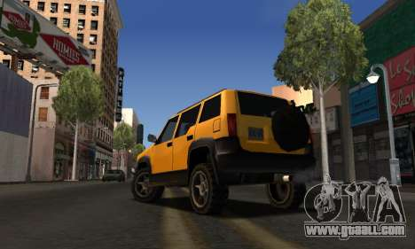 2002 Landstalker for GTA San Andreas right view