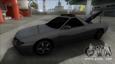 Nissan Skyline R32 Towtruck for GTA San Andreas right view