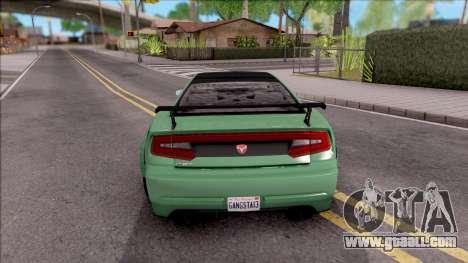GTA V Bravado Buffalo Edition v1 for GTA San Andreas back left view