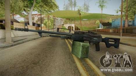 Battlefield 4 - PKP Light Machine Gun for GTA San Andreas second screenshot