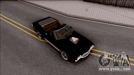 Ford Gran Torino Cabrio 1972 for GTA San Andreas right view
