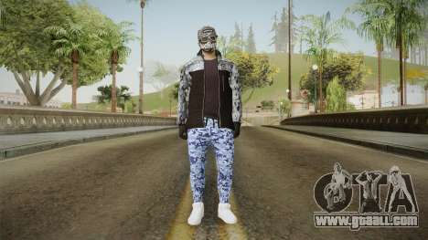 Skin Random 3 (Outfit Import Export) for GTA San Andreas second screenshot