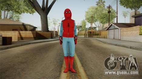 Spiderman Homecoming Skin v3 for GTA San Andreas second screenshot