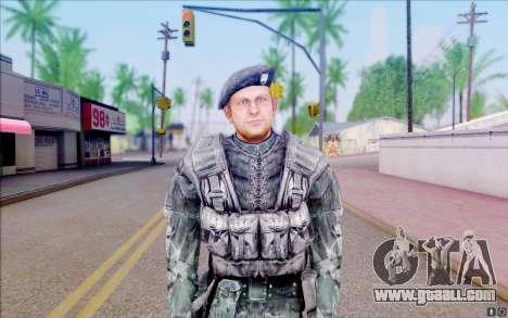 Colonel Cooper of S. T. A. L. K. E. R for GTA San Andreas second screenshot