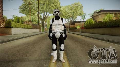 Star Wars Battlefront 3 - Scouttrooper DICE for GTA San Andreas second screenshot
