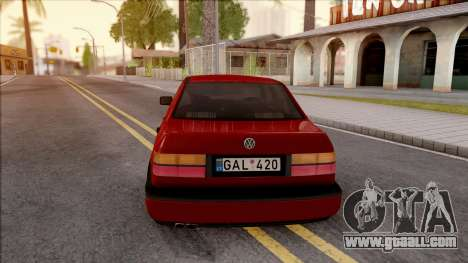 Volkswagen Vento for GTA San Andreas back left view