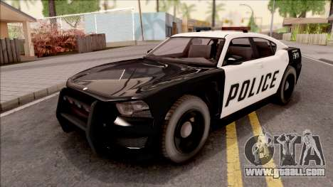 Dodge Charger Police Cruiser Lowest Poly for GTA San Andreas