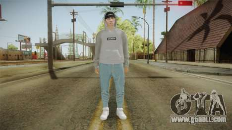 Skin Random (Outfit Import Export) for GTA San Andreas second screenshot