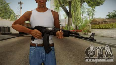 Black AK-47 for GTA San Andreas third screenshot