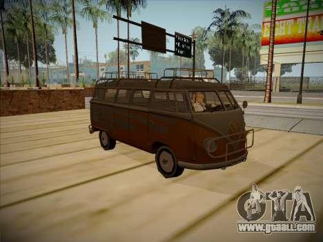 Volkswagen Samba BUS 1959 for GTA San Andreas