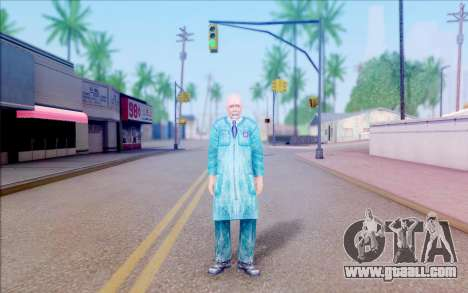 A scientist from S. T. A. L. K. E. R for GTA San Andreas second screenshot
