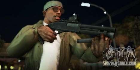 Black Edition Weapon Pack for GTA San Andreas ninth screenshot
