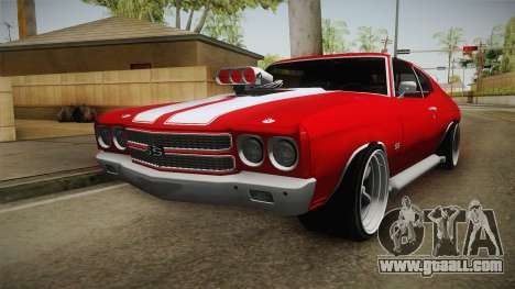 Chevrolet Chevelle SS 1970 vv1 for GTA San Andreas