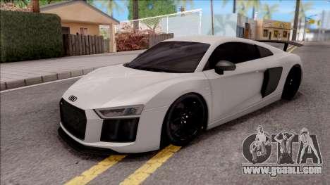 Audi R8 V10 Vorsteiner 2017 for GTA San Andreas