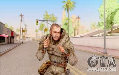 Mole of S. T. A. L. K. E. R. for GTA San Andreas