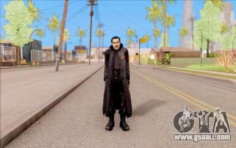Captain Sobolev of S. T. A. L. K. E. R. for GTA San Andreas