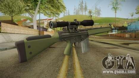 CS-GO - SG1 Sniper Rifle for GTA San Andreas second screenshot