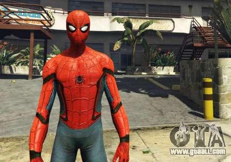 GTA 5 Spiderman [Add-On Ped] 2.2