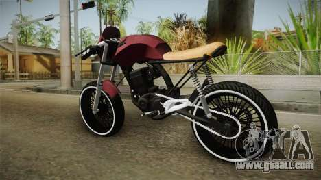 Honda Fan 150 CafeRacer for GTA San Andreas