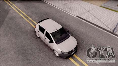 Dacia Sandero 2013 for GTA San Andreas right view