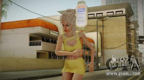 Nousha Skin for GTA San Andreas