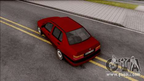 Volkswagen Vento for GTA San Andreas back view