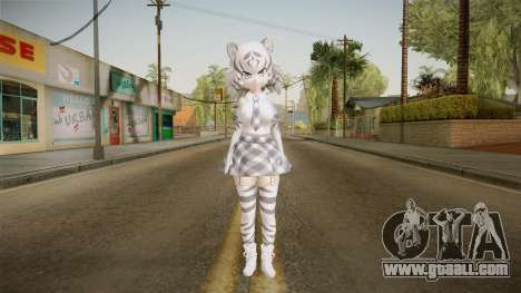 Kemono Friends - White Tiger for GTA San Andreas second screenshot