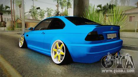 BMW M3 E46 for GTA San Andreas left view