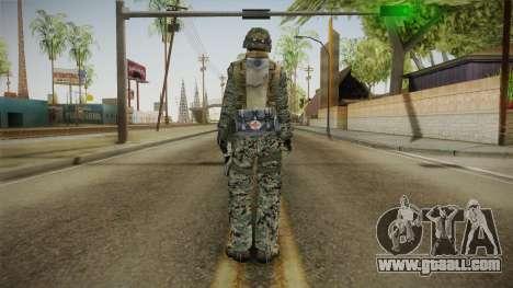 Georgian Soldier Skin v2 for GTA San Andreas third screenshot