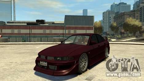 Mitsubishi Galant 8 VR-4 for GTA 4