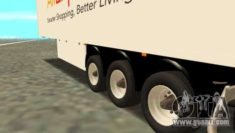 Trailer Aliexpress for GTA San Andreas back left view
