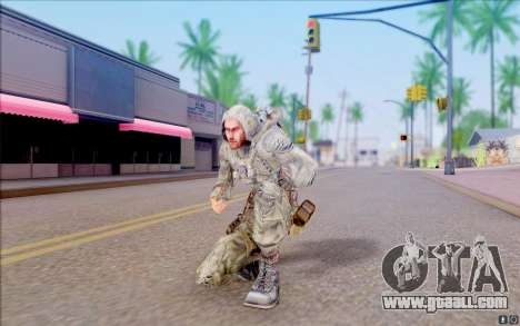 J. J. from S. T. A. L. K. E. R for GTA San Andreas