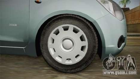 Opel Agila for GTA San Andreas back view