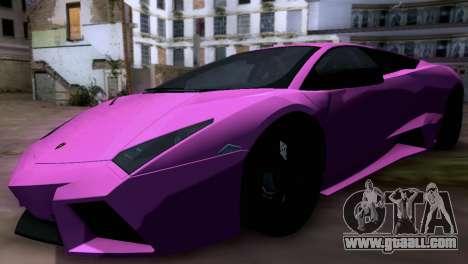 Lamborghini Reventon SA Plates for GTA San Andreas