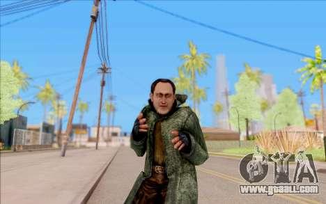 The male of S. T. A. L. K. E. R. for GTA San Andreas