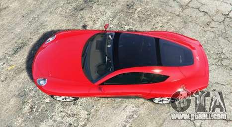 GTA 5 Alfa Romeo Disco Volante 2013 [add-on] back view