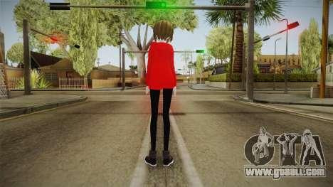 Hoodie Meiko Skin for GTA San Andreas third screenshot