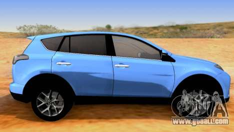 Toyota RAV4 2015 SA for GTA San Andreas left view