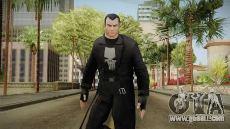 Marvel Heroes - Punisher Overcoat for GTA San Andreas
