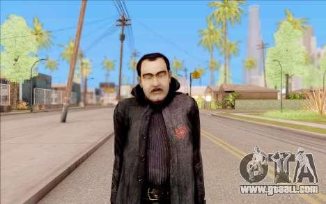 Captain Sobolev of S. T. A. L. K. E. R. for GTA San Andreas second screenshot