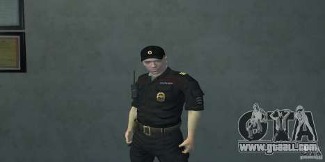 Pak officers of the Russian Federation for GTA San Andreas