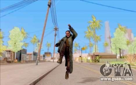 The male of S. T. A. L. K. E. R. for GTA San Andreas fifth screenshot