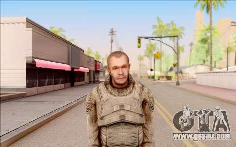 Mole of S. T. A. L. K. E. R. for GTA San Andreas third screenshot