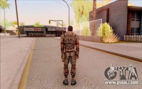 Zombie Degtyarev from S. T. A. L. K. E. R. for GTA San Andreas forth screenshot
