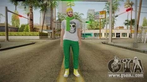 GTA Online - Hipster Skin 2 for GTA San Andreas second screenshot