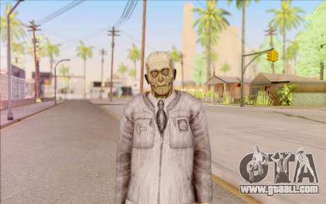 Zombie scientist from S. T. A. L. K. E. R. for GTA San Andreas